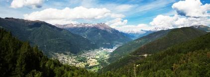 La Valtellina e le Alpi