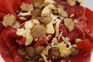 Carpaccio di manzo al tartufo - Antipasto Lombardia
