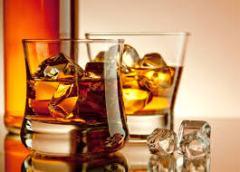 Amaretto liqueur glaçons