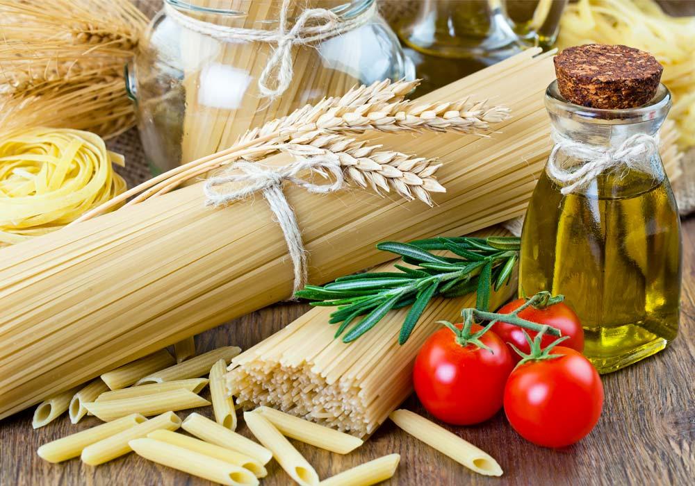Spaghetti Penne Blé Tomates