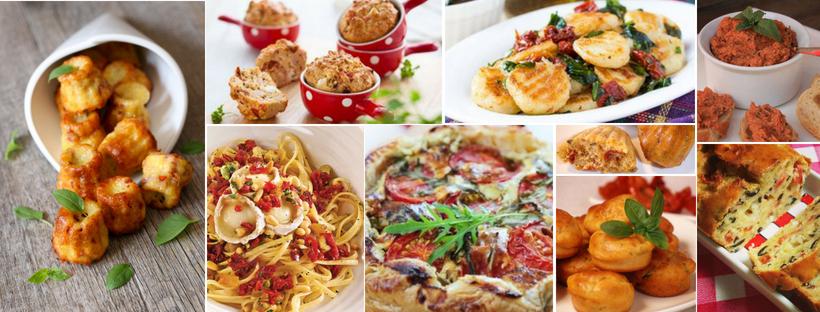 recettes tomates séchées